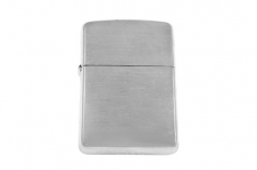 Зажигалка Zippo 162 brushed chrome Heavy Wall Armor Case