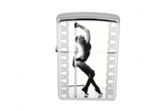 Зажигалка Zippo  28448 Pole Dancer High Polish Chrome