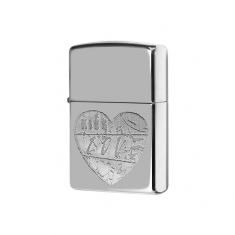 "Зажигалка Zippo 24198 ""For The Love of Chrome"""